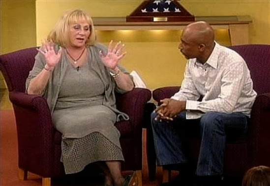 Sylvia Browne and Montel Williams
