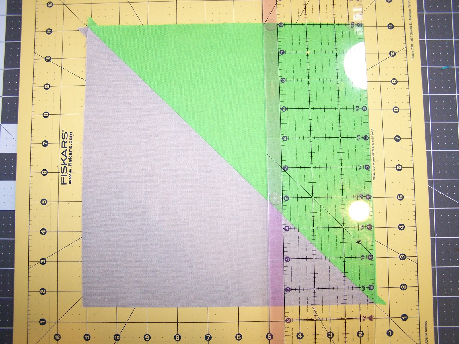 how to cut a square in half 4 times