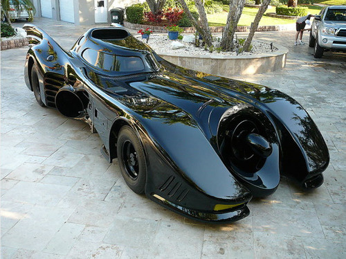 BATMAN's Stunning CAR