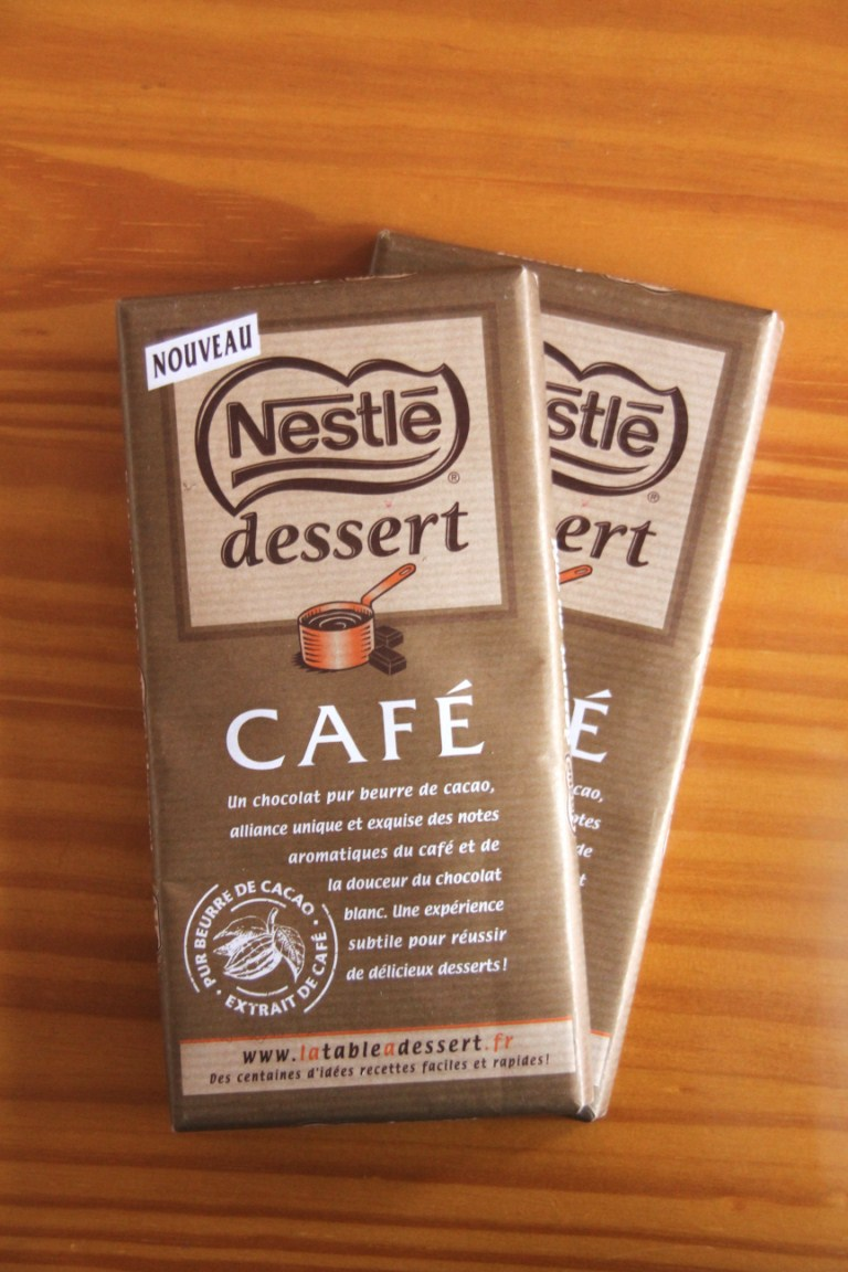 Gateau nestle cafe