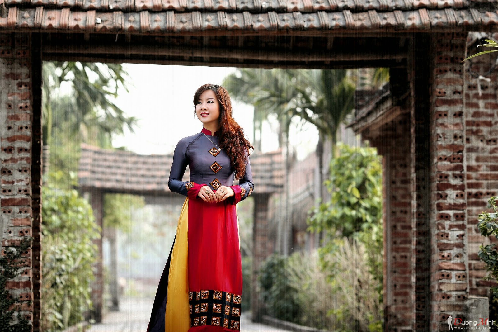 Ảnh đẹp girl xinh Áo dài truyền thống Việt Nam - Ảnh 29