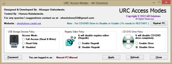 Evita el robo de datos bloqueando memorias USB o de CD