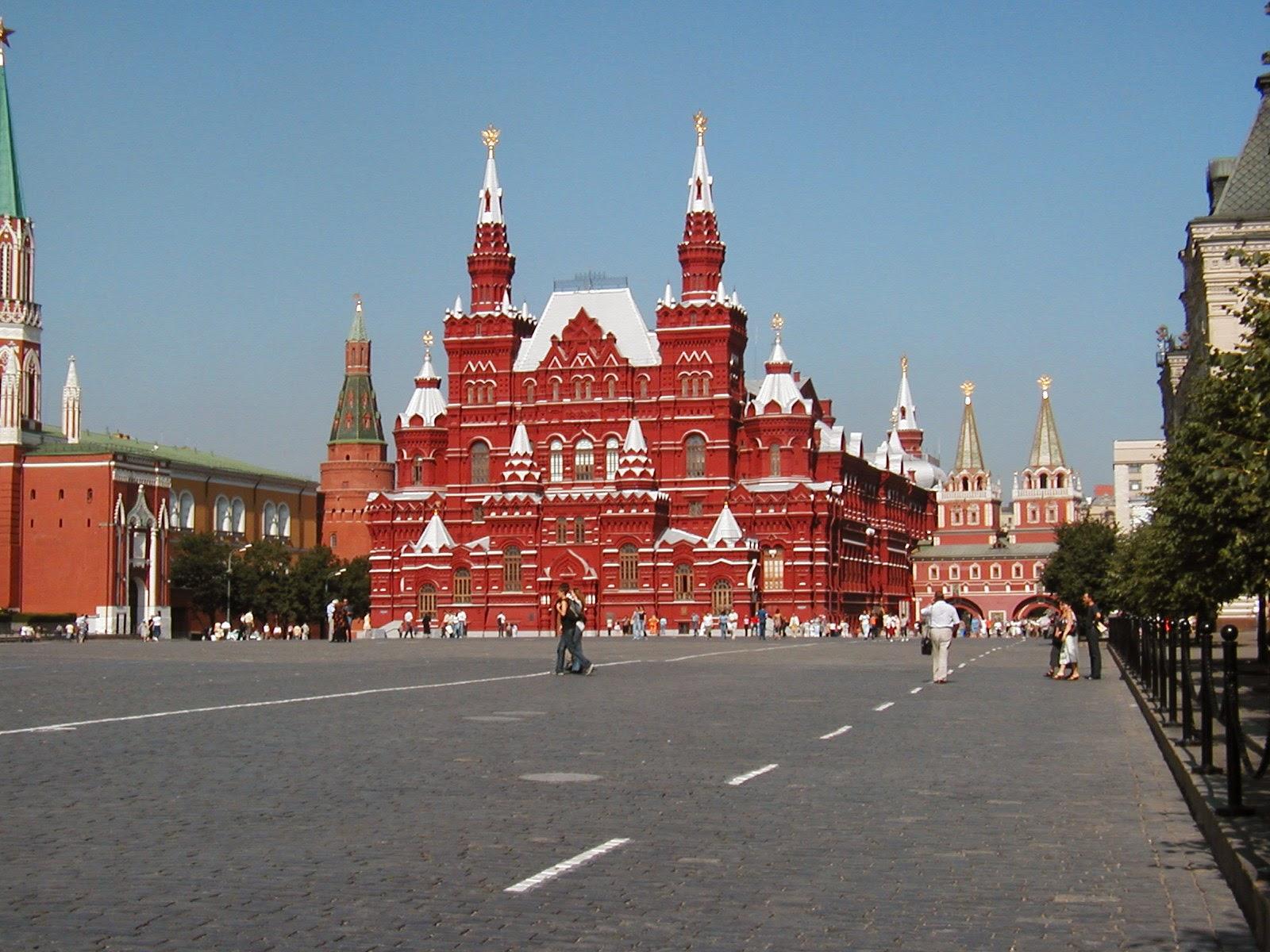 Den Røde Plads, Moskva