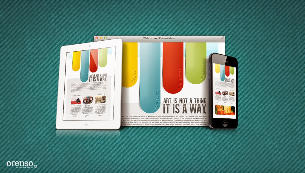 OrensoDesign - Magazine cover