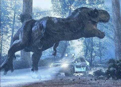 O Parque dos Dinossauros finalmente é aberto