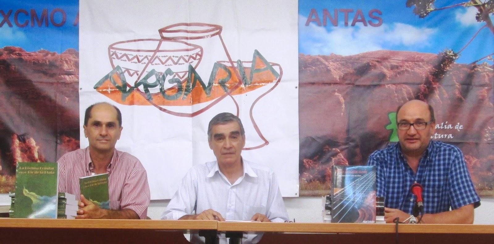 ABEL ZABALA presenta su libro LA DÉCIMA POPULAR EN EL RÍO DE LA PLATA en Antas (Almería)