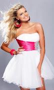 Imágenes de Vestidos de Graduación · Ver toda la galería .gt;.gt; vestido de graduaci blanco rosado
