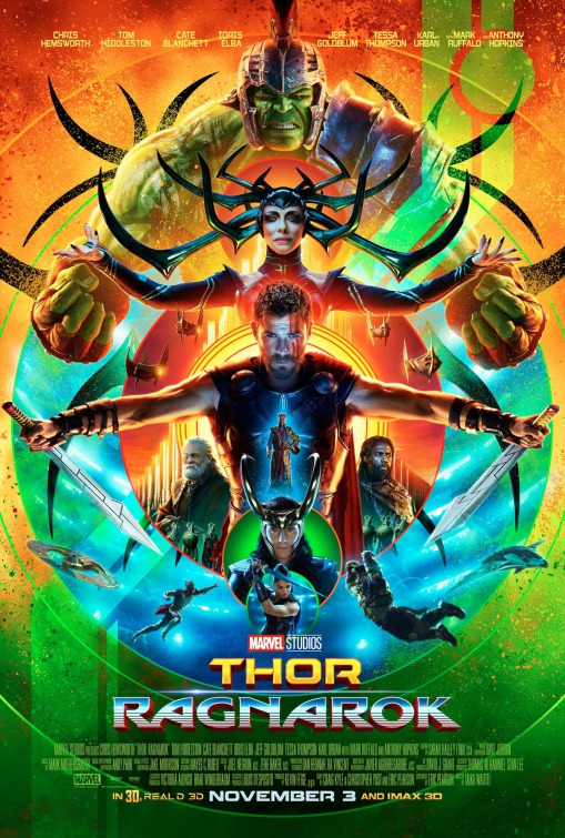 Recent releases - Thor: Ragnarok (2017)