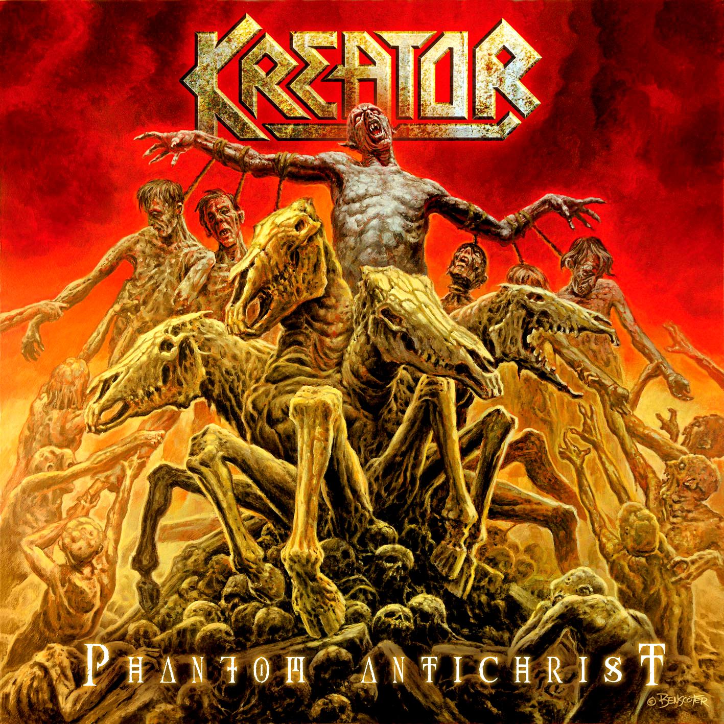 tune of the day kreator phantom antichrist