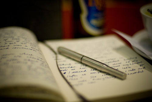 Writing In A Diary ~ The catholic toolbox journal writing