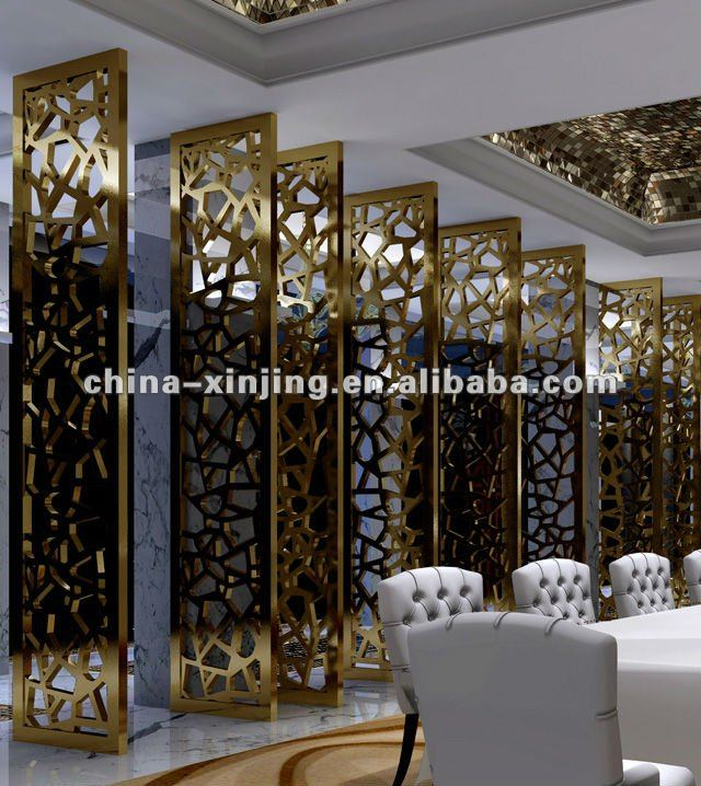 Metal Architectural Screen Panels : Decorative metal screen panels