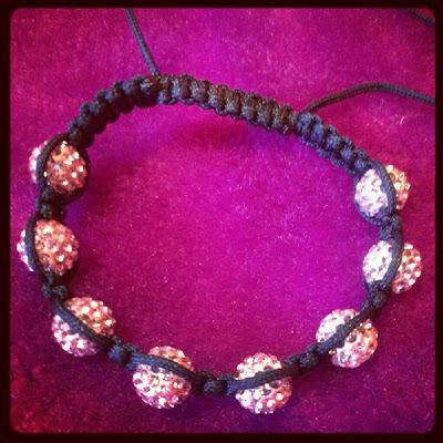 Shambhala Pink bracelet Sparklable Jewellery