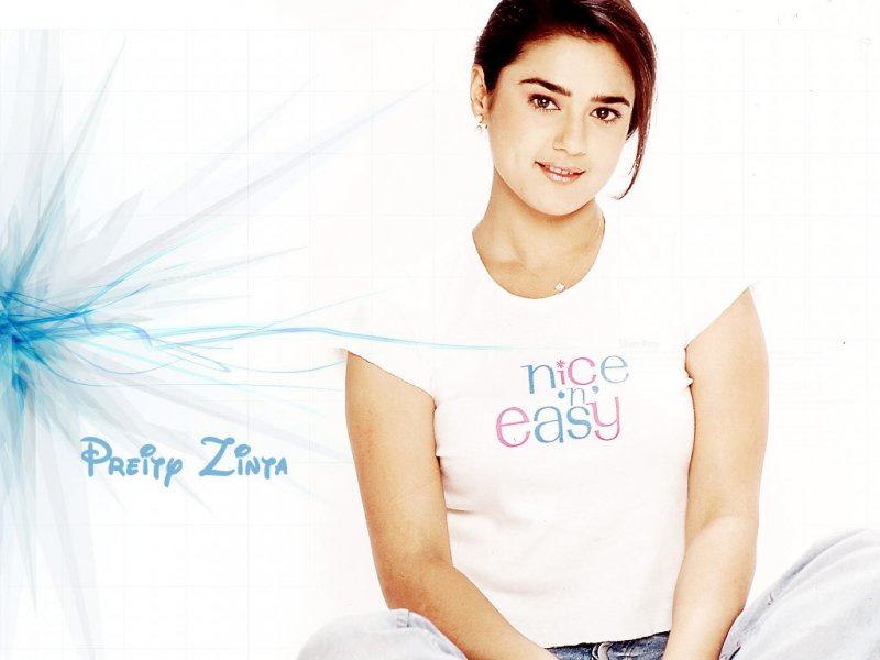 Preity Zinta Nice and Easy Top Wallpaper - Preity Zinta Old Wallpapers - unseen