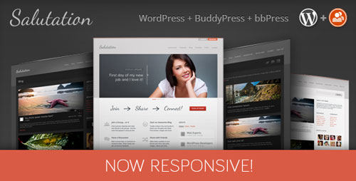 Free Download Salutation V3.0.7 Responsive WordPress + BuddyPress Theme