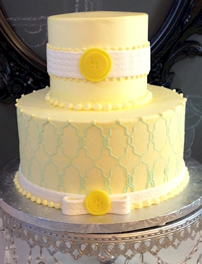 Cup A Dee Cakes Blog Baby Shower Reveal Cake