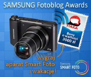 Konkurs 3 aparaty fotograficzne Samsung