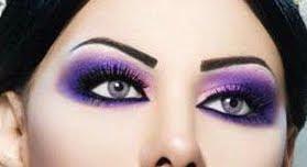 Love All Races: Arabic Makeup Wallpaper