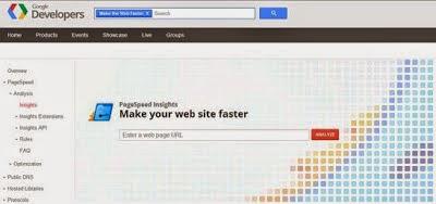 Situs untuk mengukur kecepatan blog atau web