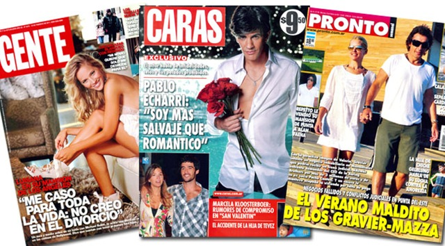 Tapas De Revistas Noticu Ntalo Show Del Espect Culo