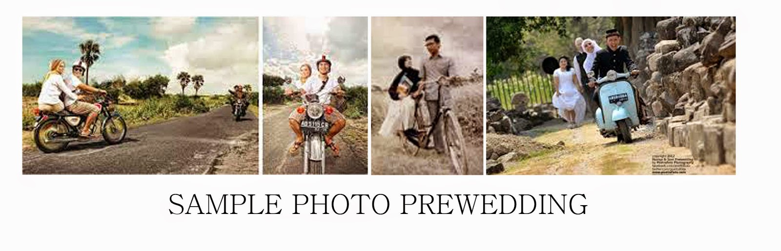 Contoh Gambar Pra Wedding