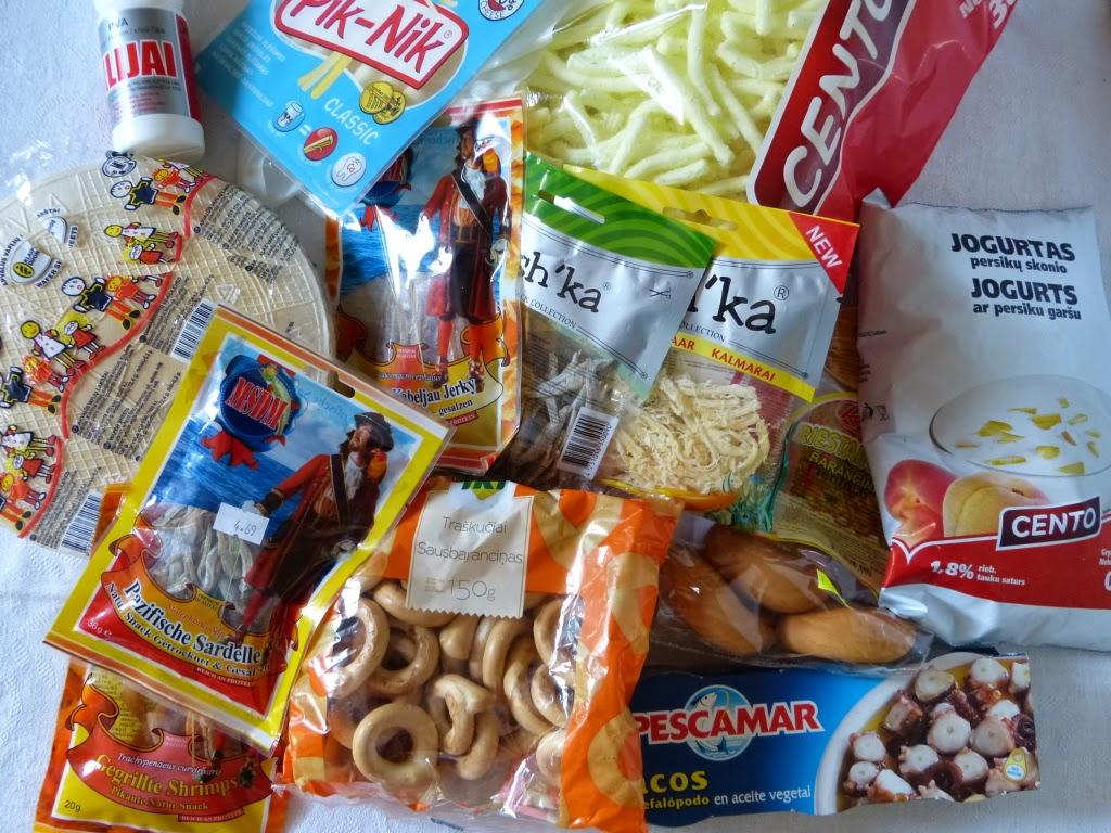 zakupy na Litwie