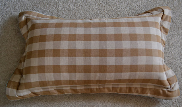 How to make a pillow sham via Worthing Court blog