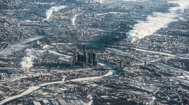 aerial photography - Moscow