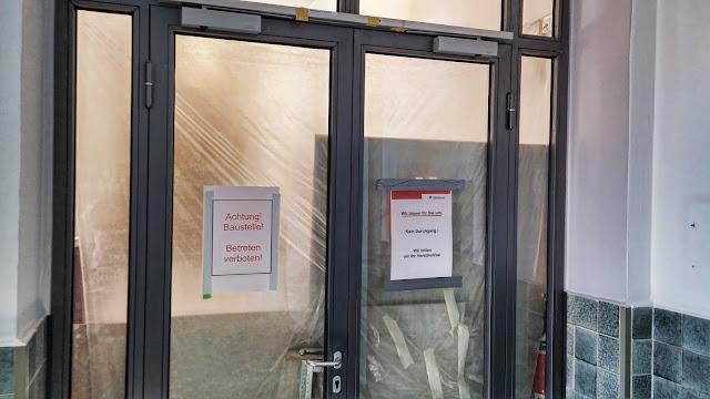 Baustelle, Umbau St. Hedwig-Krankenhaus, Große Hamburger Straße 5, 10115 Berlin, 28.04.2014