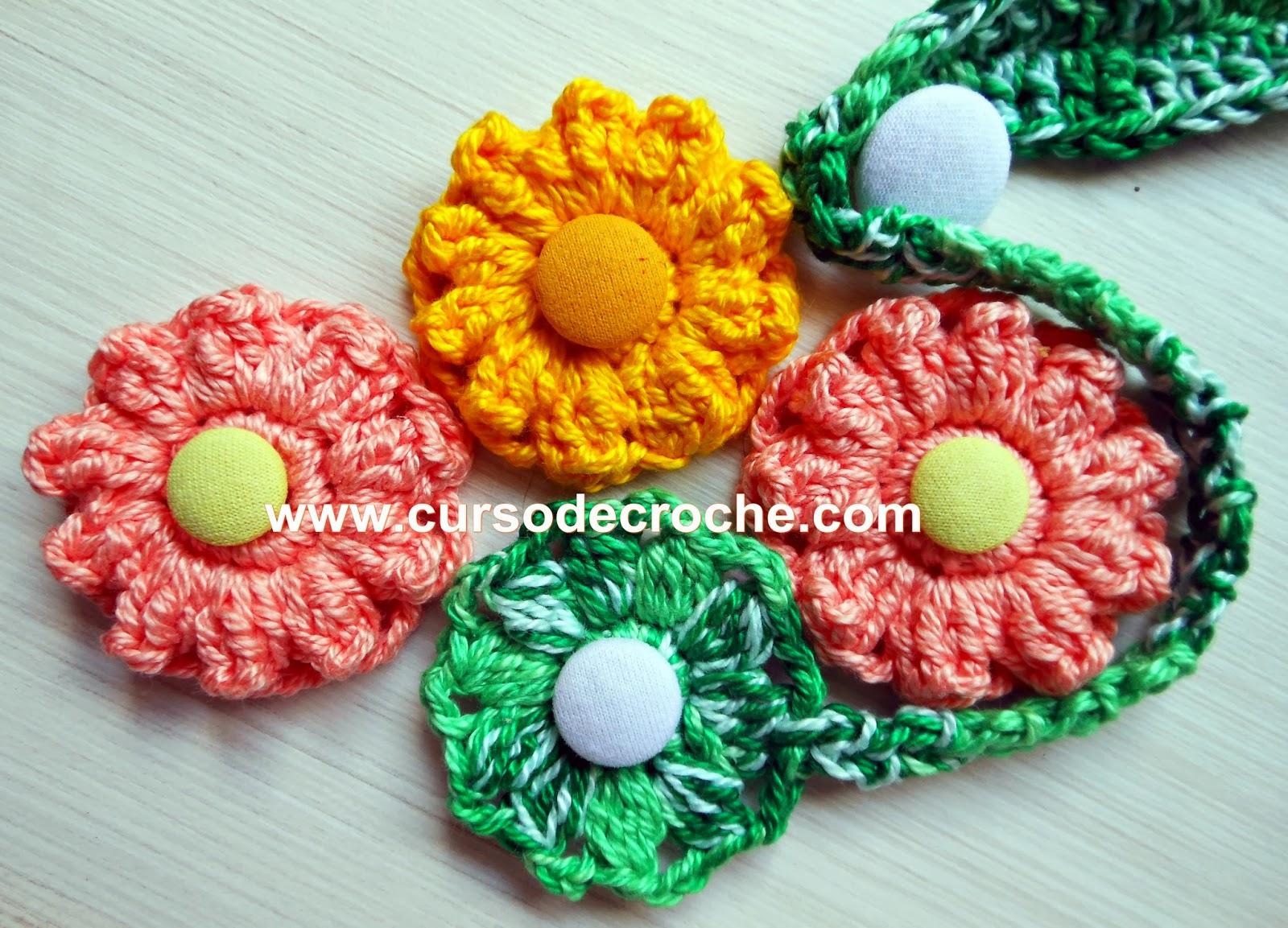 flores em croche 056 ponto pipoca do dvd flores em croche com frete gratis na loja curso de croche com Edinir-Croche