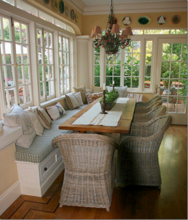 Cote de Texas's kitchen series featured my breakfast room