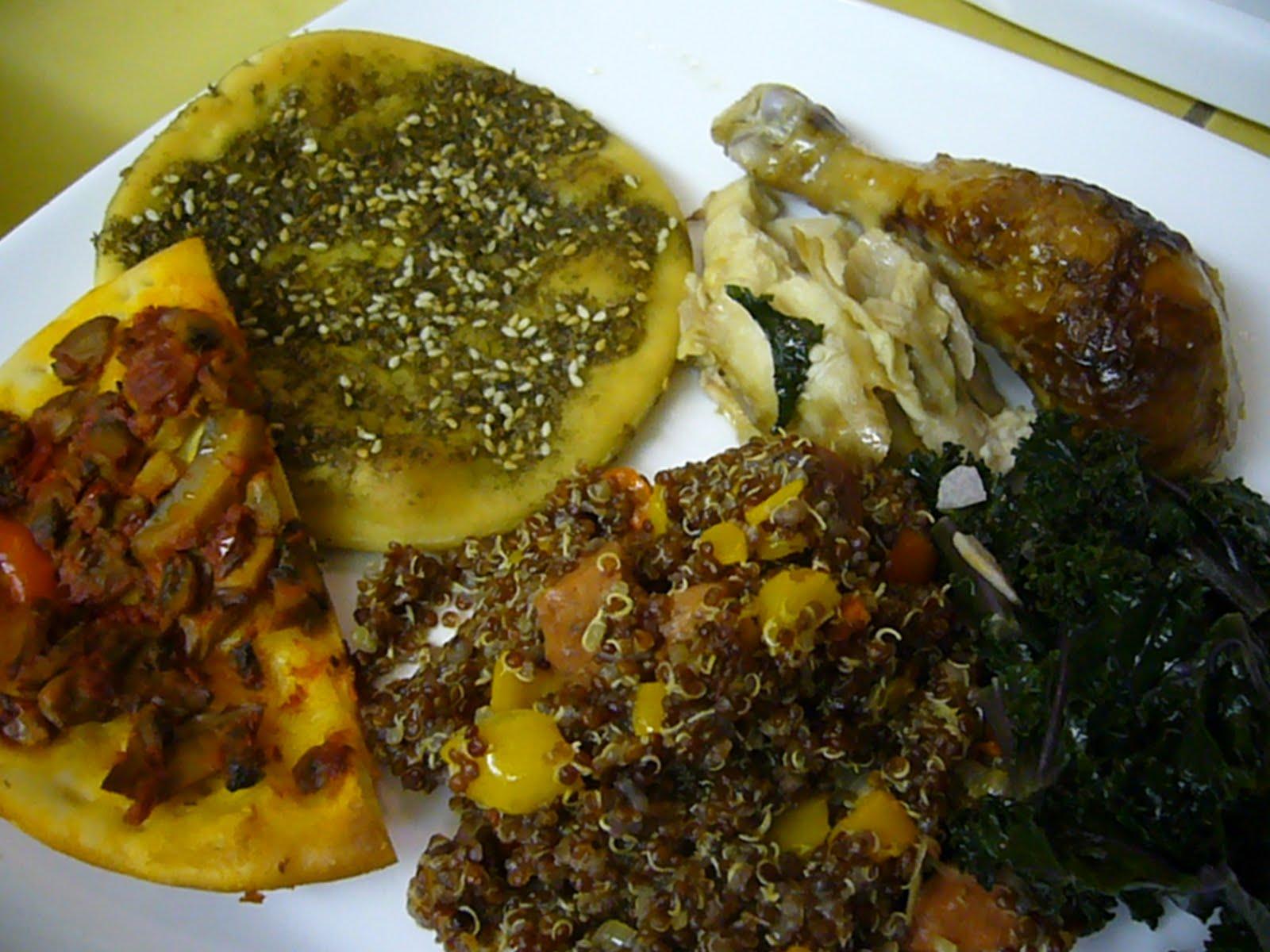 Labels: quinoa , swiss chard