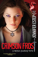 book cover of Crimson Frost by Jennifer Estep