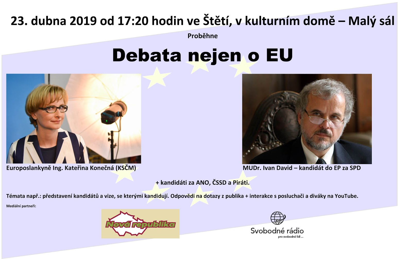 Debata nejen o EU