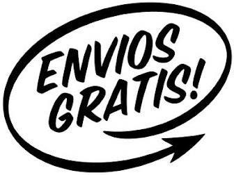 ENTREGAS y ENVÍOS GRATIS !!!