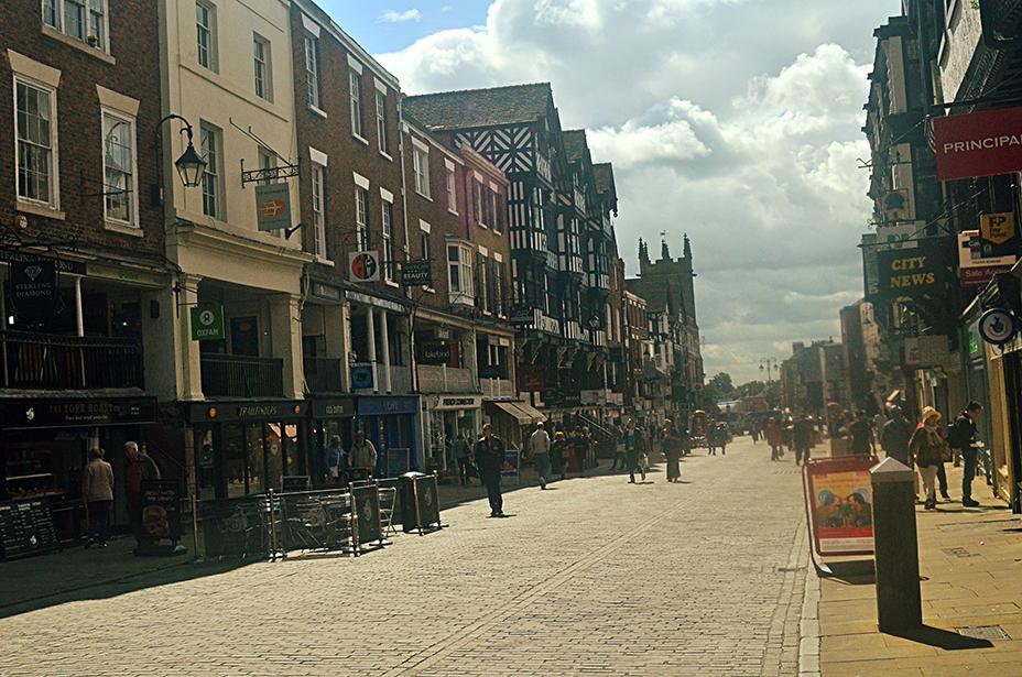 chester high street, shops, uk lifestyle blogger