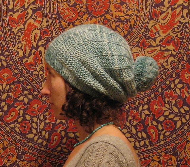 5b17f74adbb bohoknits  Belugah Slouch Hat and Beanie