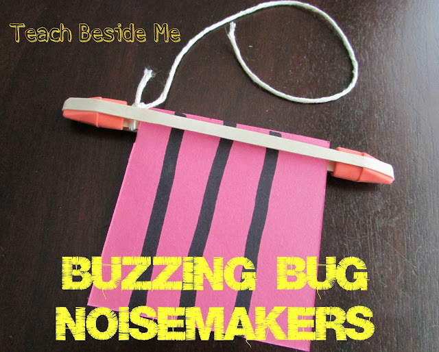buzzing bug sound experiment for kids