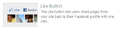 Cara Memasang Widget Facebook Like Button di Blog