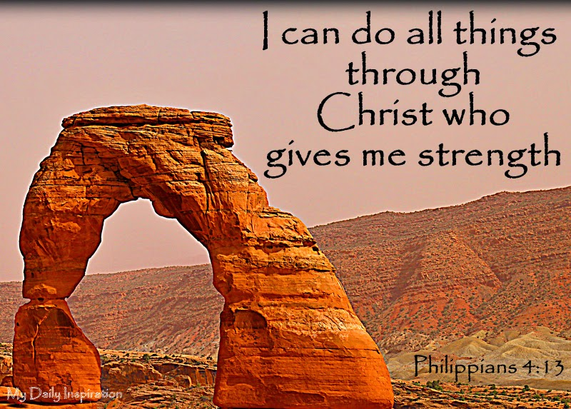 I Can Do All This Through Christ Who Gives Me Strength