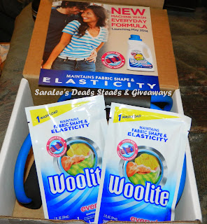 Enter the Woolite Everyday Giveaway. Ends 6/24.