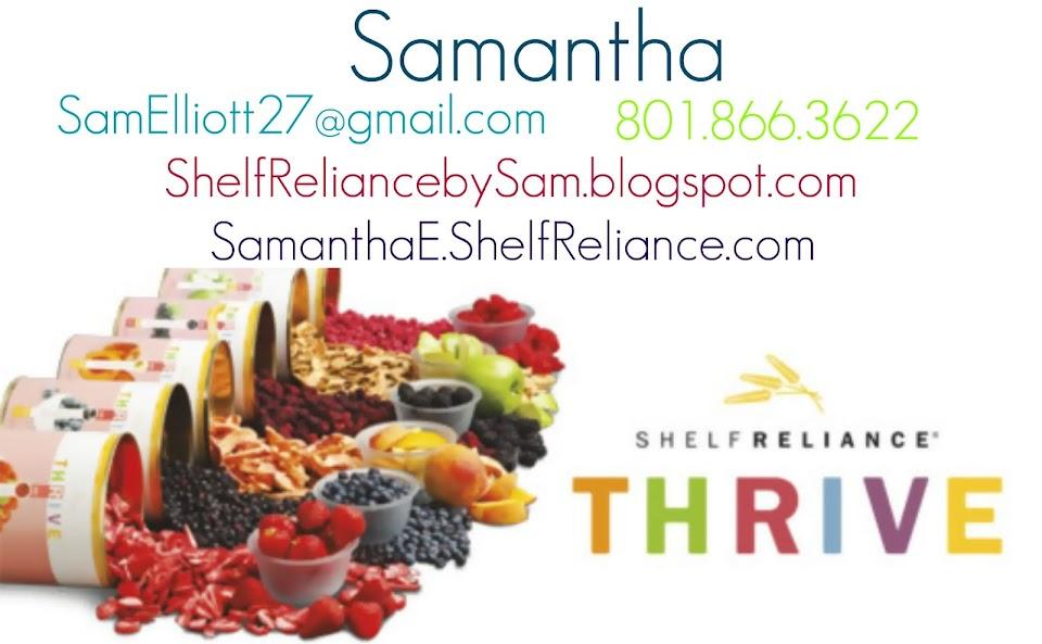 Shelf Reliance & THRIVE by Sam