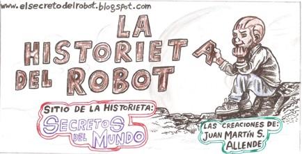 la historieta del robot