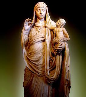 Valeria Mesalina, esposa de Claudio  - a. 25 d. C.– 48 d. C.