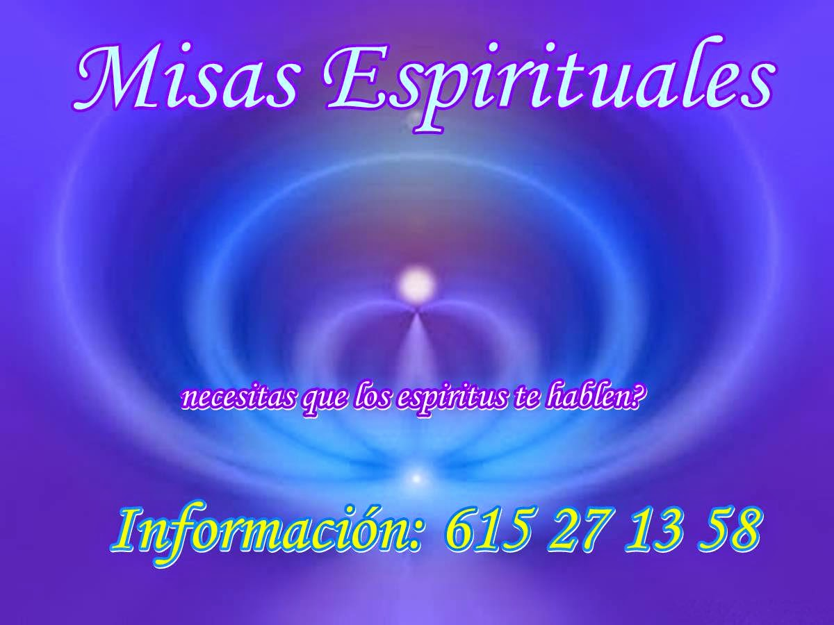 Misas Espirituales