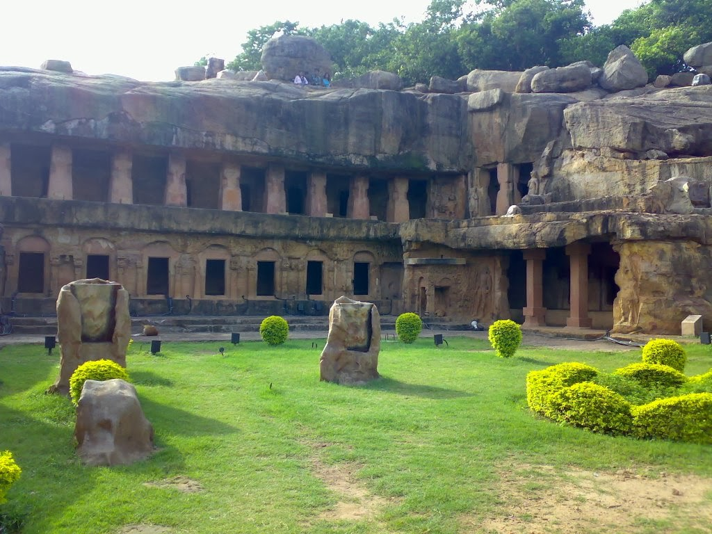 Udaygiri and Khandagiri Bhubaneshwar India