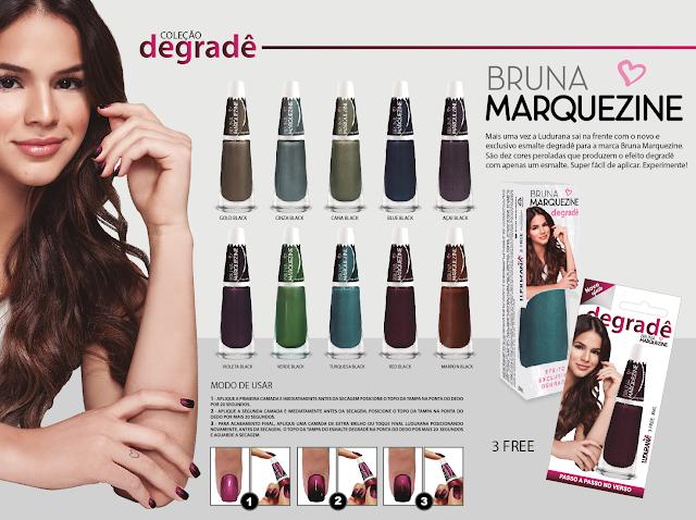 ludurana-bruna-marquezine-unhas-degradê- esmalte