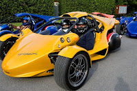 Campagna T-Rex Motorcycle Prosperity Yellow Base Model