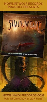 SHADOWGATE Soundtrack by Rich Douglas