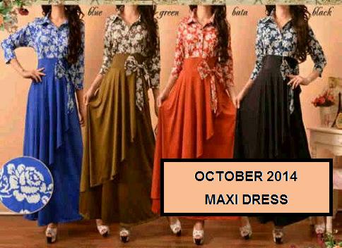 MAXI DRESS OCTOBER 2014