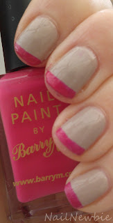 Nail Newbie: Untried Month - Neon and Nude